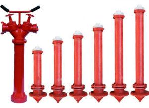 Гидранты пожарные стальные, колонка КПА